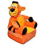 Smyk figurás,kihajtható plüss fotel Tigris