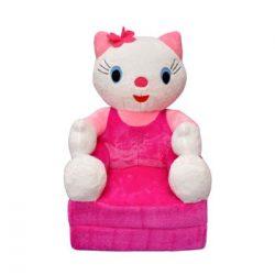Smyk figurás,kihajtható plüss fotel Kitty