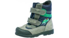 Top Dry Tex Szamos supinált fiú száras téli cipő 1440-187092