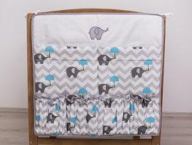 Esernyős Elefánt kék  zsebes tároló