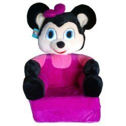 Smyk figurás,kihajtható plüss fotel Egér lány